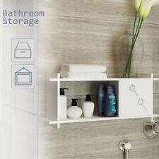 Wall Mounted Bathroom Storage Mdf Kitchen Storage Cabinet Towel Organiser White