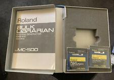 Roland MRB-500 MRM-500 Software for MC-500 MC-500mkII MC-50