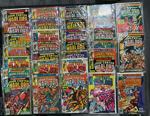 John Carter Warlord Of Mars #1-28 1977 Plus Annuals 1-3 MARVEL COMICS VFNM