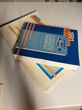 1991 Service Shop Manual Gm Factory Oem Chevy Astro Van Wiring Diagram
