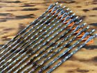 12 Gold Tip Lost Camo Hunter 300 400 or 500 Blemished W/ 2in Fletchings or SHAFT