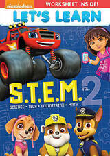 NEW!!! Lets Learn: S.T.E.M. Vol. 2 (2-DVD Set, 2016)