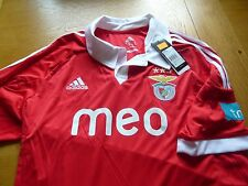 BENFICA PORTUGAL 2012-13 HOME SHIRT Large BNWT