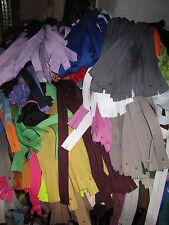(0,29 €/Stück) 100 Stück Kleider, Kissen Taschen Marken Reißverschlüsse 25-60 cm