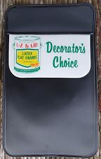 "Vtg 70's E-Z KARE Latex Paint Logo ""Decorator's Choice"" Pocket Protector Unused"