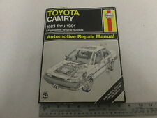 1983-1991 Haynes Toyota Camry Automotive Repair Manual, Gas Engines