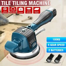 Electric Tile Vibrator Professional Tiling Machine Suction Cup Floor Laying Tool