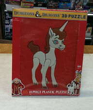 3D puzzle UNICORN dungeons and dragons 1984 Factory Sealed interior - VERY RARE