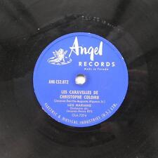 LUIS MARIANO Priere Peruvienne  CANADA '50s ORIG ANGEL 78 rpm FRENCH