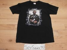 MEN'S SUPREME LEE SCRATCH PERRY PHOTO BLACK TEE SHIRT SIZE SMALL VERY RARE