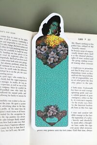 Green Amy Winehouse Lady Bookmark By Illustration Tretchikoff Style Artist Msdre