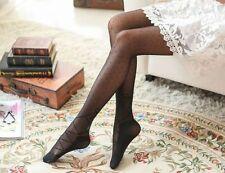 Collants noirs à pois trompe l'oeil façon chaussons de danse ruban lacet