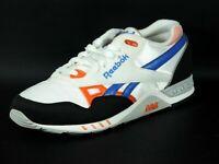 Reebok Ers 2000 Classic Mens Shoes Running White Orange Lth 1-170739 Dead Stock