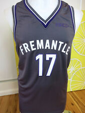 FREMANTLE DOCKERS 2017 BASKETBALL SINGLET  MENS SIZE SMALL      NEW WITH TAGS