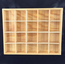 "1/6 Scale Wooden Shoe Ark Bookcase Storage Rack Model F 12"" Action Figure"