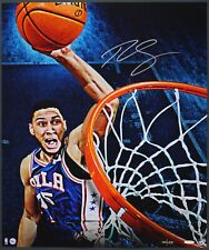Upper Deck UDA Ben Simmons Slam Auto Autograph 20x24 Photo Photograph COA #d 125
