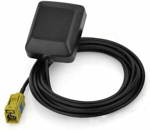 Mini Satellite Radio Antenna Fakra K Curry Female Connector Compatible with XM