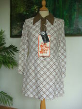 """BNWT Original Vintage 1970's """"You know Who!"""" Geometric Coat Bust 34"""""""