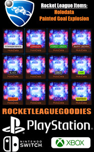 Rocket League Items - Holodata Goal Explosion - PS4 - PS5 - XBOX ONE - Switch
