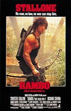 Rambo: First Blood Part II (1985) Sylvester Stallone cult movie poster print