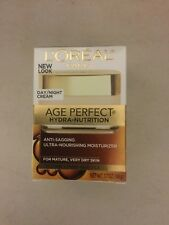 L'oreal Age Perfect hydra-nutrition Anti-sagging Day/night Cream Free Ship NIB