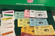 Lot of  Monopoly NFL Money Deeds  Game Replacement Parts
