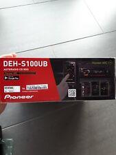Pioneer Autoradio DEH-S100UB - CD-Tuner mit RDS,MP3, USB, AUX,1DIN -Gerät