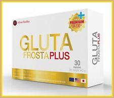 3Boxs GLUTA FROSTA PLUS  SUPER ACTIVE WHITENING SKIN GLUTATHIONE  + PINE BARK