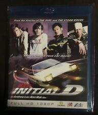 Initial D Live Action Movie Bluray Oop Rare Tai Seng 2007