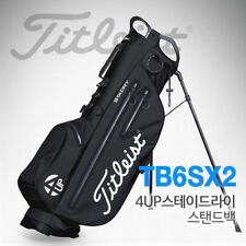 Titleist 4UP Stadry Caddie Stand Bag Black and Red  (TB6SX2-24) Golf  v_e