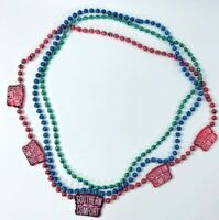 SOUTHERN COMFORT Mardi Gras Beads New Orleans Carnival Parade PARTY Costume