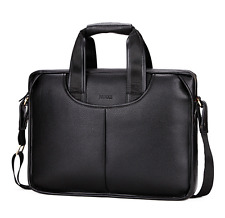 NEW Men Business Leather Handbag Briefcase Shoulder Messenger Laptop Satchel Bag