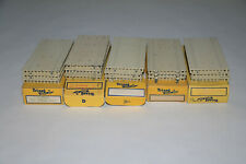 TRIANG MINIC SHIPS 5 BOXES M836 QUAY SECTIONS