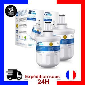 Filtres a Eau Refrigérateur Frigo Américain Compatibles Samsung DA29 DA97 HAFIN1