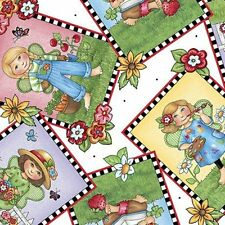 Mary Engelbreit Mary's Fairies Picture Patches Fabric 25891-Z  By the Yard