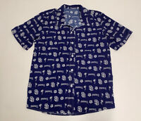 Men's San Diego Padres Hawaiian M Short Sleeve Button SGA Stadium Giveaway Shirt