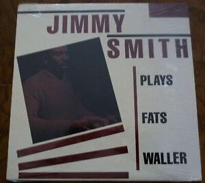 JIMMY SMITH Plays Fats Waller LP Vinyl Album FACTORY SEALED 1981
