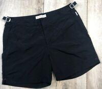 Auth Men's ORLEBAR BROWN Black Bulldog Swim Shorts Size 34 M/L RRP $280