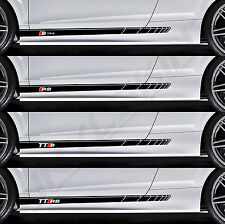 AUDI S-line RS TTS TTRS Superior Cast Side Stripes Decals Stickers A3 A4 Quattro