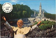 65 - cpsm - Jean-Paul II à LOURDES le 14 et 15 aout 1983 (H6467)