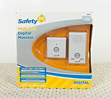 Safety 1st High Def Digital Baby Monitor Dect 6.0 Tech 1000 ft super clear NEW