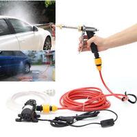 Portable Car Electric Washer High Pressure 12V Pump Washing Gun Water Machine