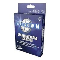 COUNTDOWN LETTERS CARD GAME BRAND NEW & SEALED