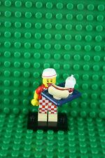 Lego 71018 Minifigures Series 17 #6 Hot Dog Vendor with Tray Hot Dog Tray