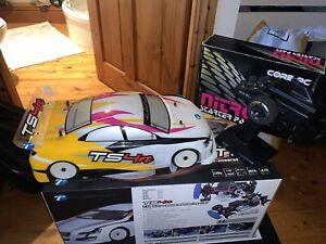 Thunder Tiger Ts4n 1/10 nitro rc car