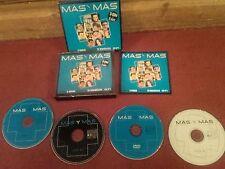 MAS Y MAS 5 Horas De Musica 3x CDs+ 1x DVD 15 Videoclips Y 60 No 1 SPAIN  N.MINT