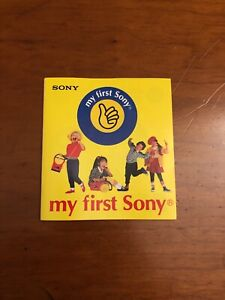 Vintage My First Sony Mini Product Catalog