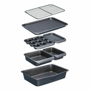 MasterClass Smart Space 7 Piece Stackable Bakeware Set