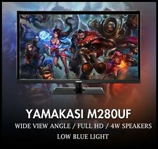 "Yamakasi New 28"" M280UF SLIM HD 1920 x 1080 60Hz Full HD Monitor"