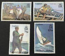 Tristan da Cunha 1972 Longboats SG170/3 MNH